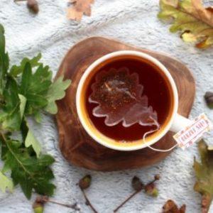 herbata w torebce dąb