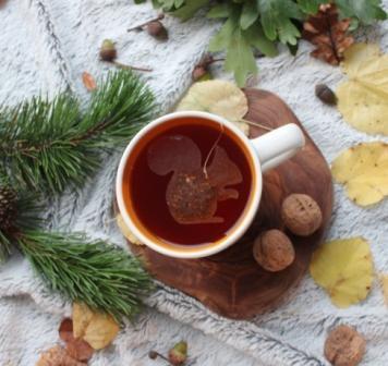 Herbata w torebce Wiewiórka