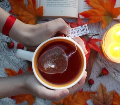 Herbata w torebce Żołądź